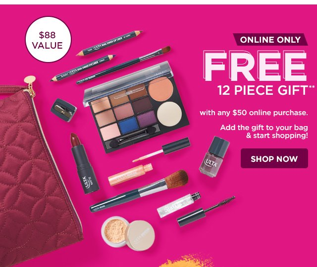 Ulta: Shop Black Friday NOW + Free 12pc Gift Online Only! | Milled