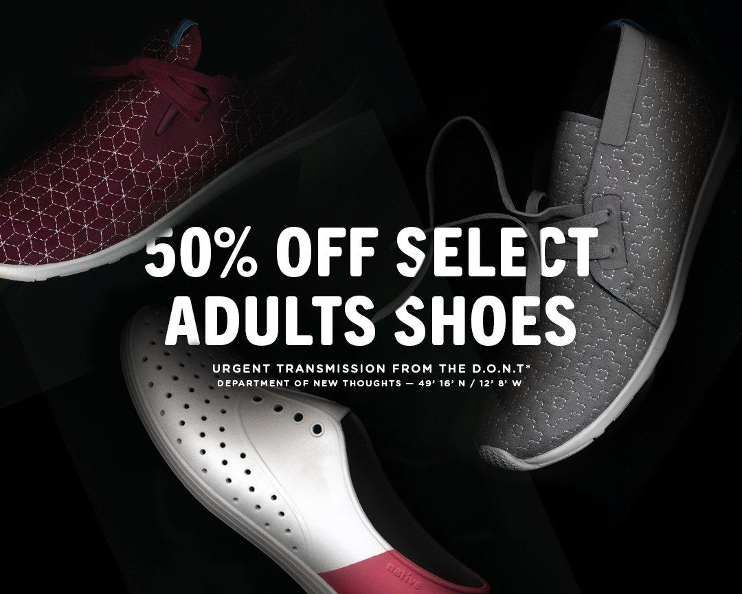 Native Shoes: Sale starts NOW! | Shop