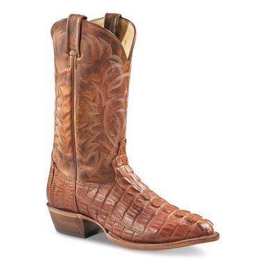 Tony Lama Men's Sunset Renegade Caiman Tail Western Boots