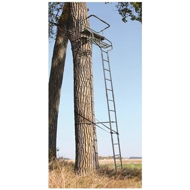 Guide Gear 18' Deluxe 2-Man Ladder Tree Stand