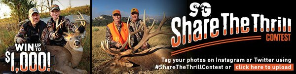 Share The Thrill Contest: Win up to $1,000 and be featured on our catalog or website! Tag your photos on Instagram or Twitter using #ShareTheThrillContest or go here to upload.