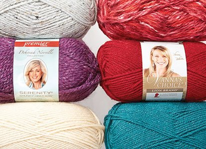 Online Only Doorbuster- UP to 50% Off Entire Stock Yarn