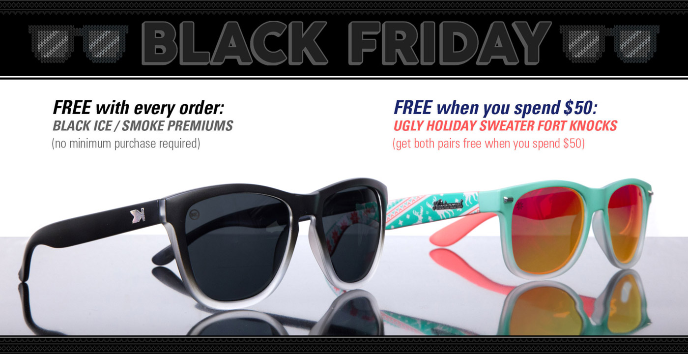 7e639c3fdf0 Knockaround  6 pairs of shades for  70—Black Friday ONLY! 👓