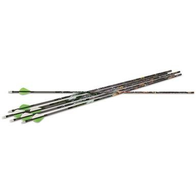 "Carbon Express 31"" PileDriver Hunter Arrows, 6 Pack"
