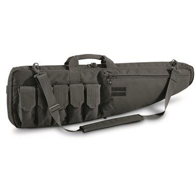 "Tactical 40"" Gun Case with 5 Magazine Pockets"