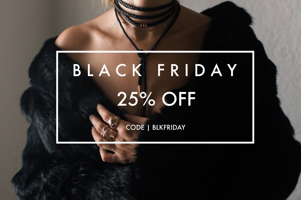 Carbon & Hyde: 💎 Black Friday Sale 25% Off EVERYTHING! 💌 | Milled
