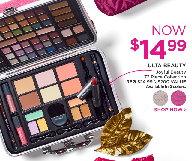 ULTA BEAUTY | Joyful Beauty 72 Piece Collection NOW $14.99
