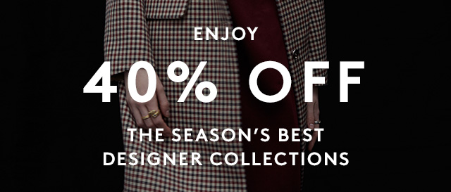 Our Designer Sale is on now.