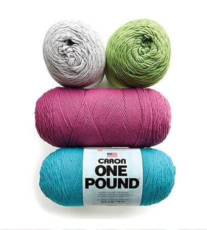 Doorbuster: In-Store $4.99 Each or Online $6.99 Each Caron One Pound or Jumbo Yarn