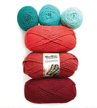 Doorbuster: In-Store Only 50% off Entire Stock Big Twist Yarns