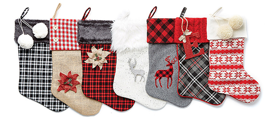 Doorbuster- 7.99 Entire Stock Holiday Stockings