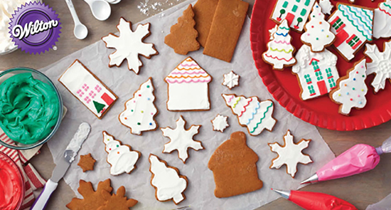 30% off Entire Stock Wilton Christmas Foodcrafting Supplies