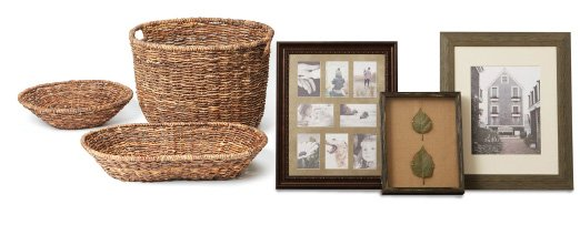 40% Off Baskets & Frames