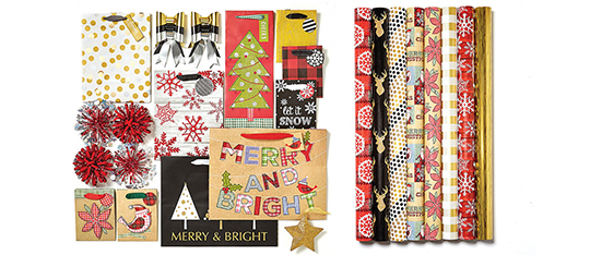 Doorbuster- 70% Off Entire Stock Holiday Gift Wrap, Bags & Accessories