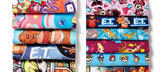 Doorbuster- 50% Off Licensed Character Fabrics & No-Sew Throw Kits