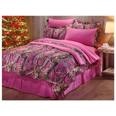 CastleCreek Next Vista Pink Camo 8 Piece Bed Set