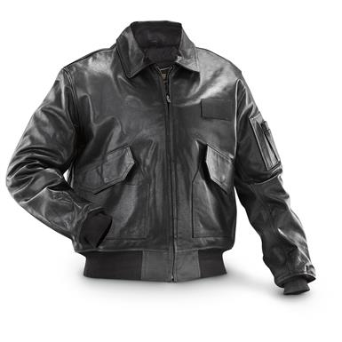 Alpha Industries Leather CWU 45 / P Flight Jacket