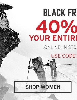 40% OFF YOUR ENTIRE PURCHASE | SHOP MEN'S