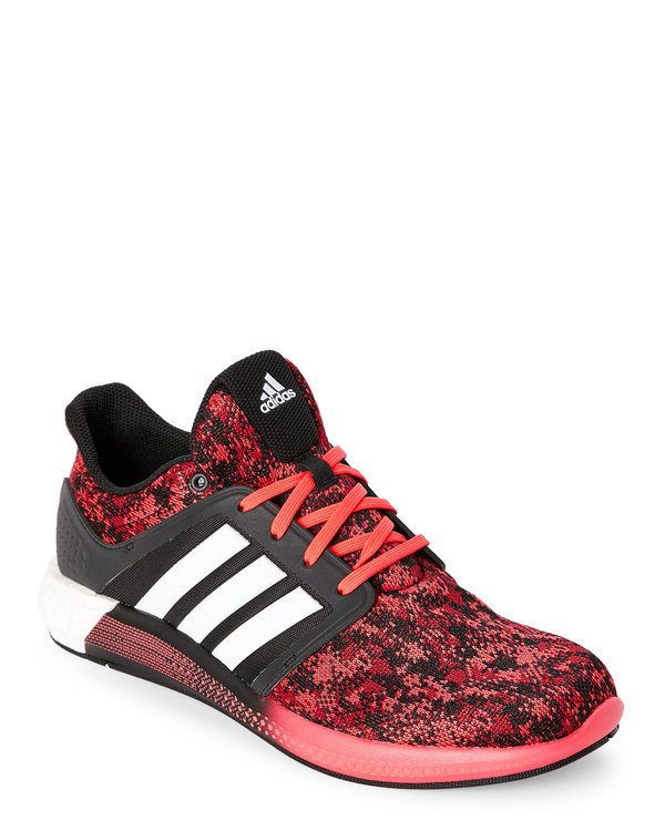 Red & Black Solar Running Sneakers
