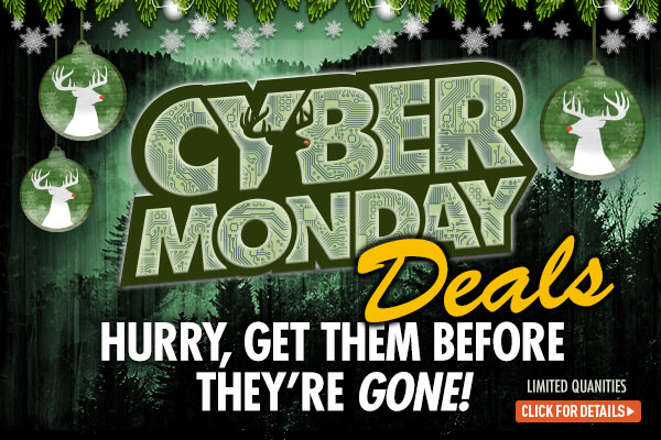 Cyber Monday! Hurry, get them before they're gone!