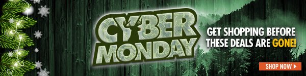 Cyber Monday! Get shopping before these Deals are gone!