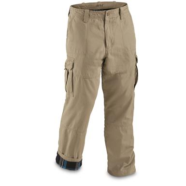 Guide Gear Men's Flannel Lined Cargo Pants