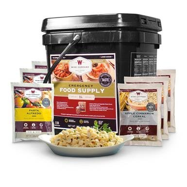 Wise Emergency Food Supply Grab & Go Meal Bucket, 84 Servings