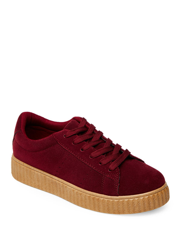 Bordeaux Finely Creeper Sneakers