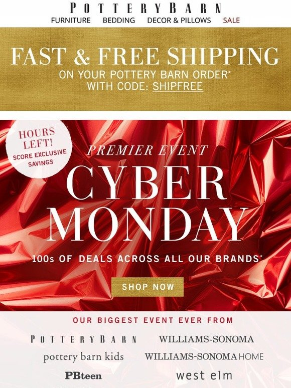 Cyber Monday is the online version of Black Friday, with many retailers offering new or continued bargains online. Last year shoppers spent a record $bn, and this year it's only expected to.