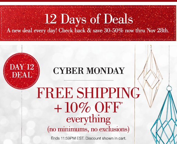 Home Decorators Collection Cyber Monday Sale Free Shipping 10 Off Everything Milled