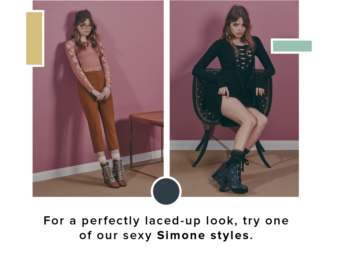 Simone Lace-up Styles