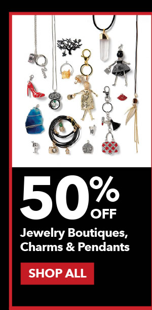 50% Off Jewelry Boutiques, Charms and Pendants. SHOP ALL.