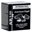American Eagle, .223 (5.56x45mm), FMJBT, 55 Grain, Ammo with Stripper Clips, 90 Rounds