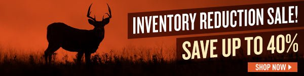 Inventory Reduction Sale! Save up to 40%!
