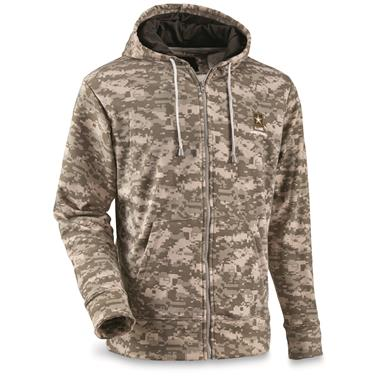U.S. Army Full Zip Fleece Tactical Sweatshirt