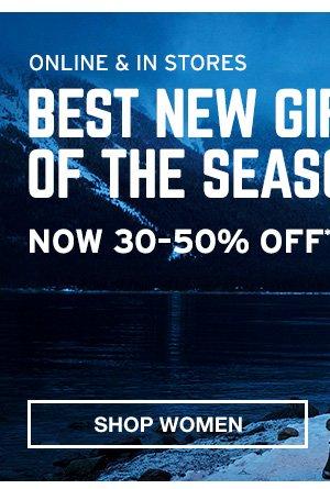 BEST NEW GIFTS 30-50% OFF | SHOP WOMEN