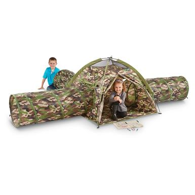 GigaTent Camo Action PlayTent and Tunnels