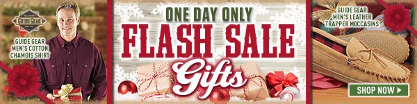 One Day Gift Flash Sale!