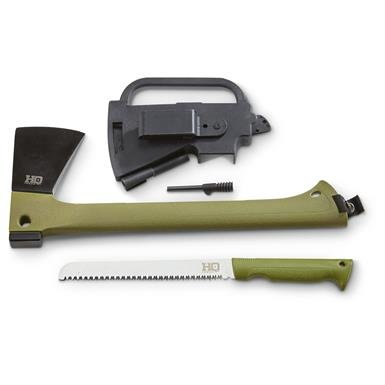 HQ Issue Axe and Saw Kit