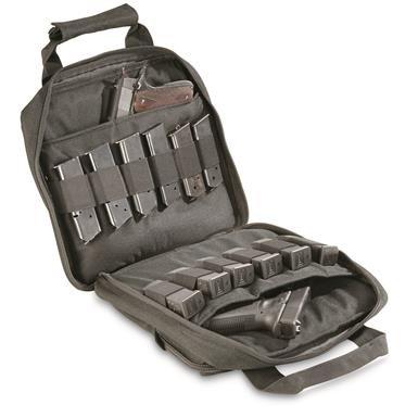 Double Pistol Tactical Gun Case