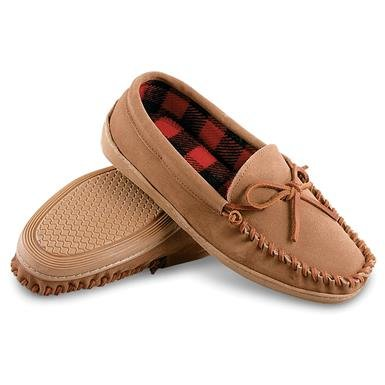 Guide Gear Men's Leather Trapper Moccasins