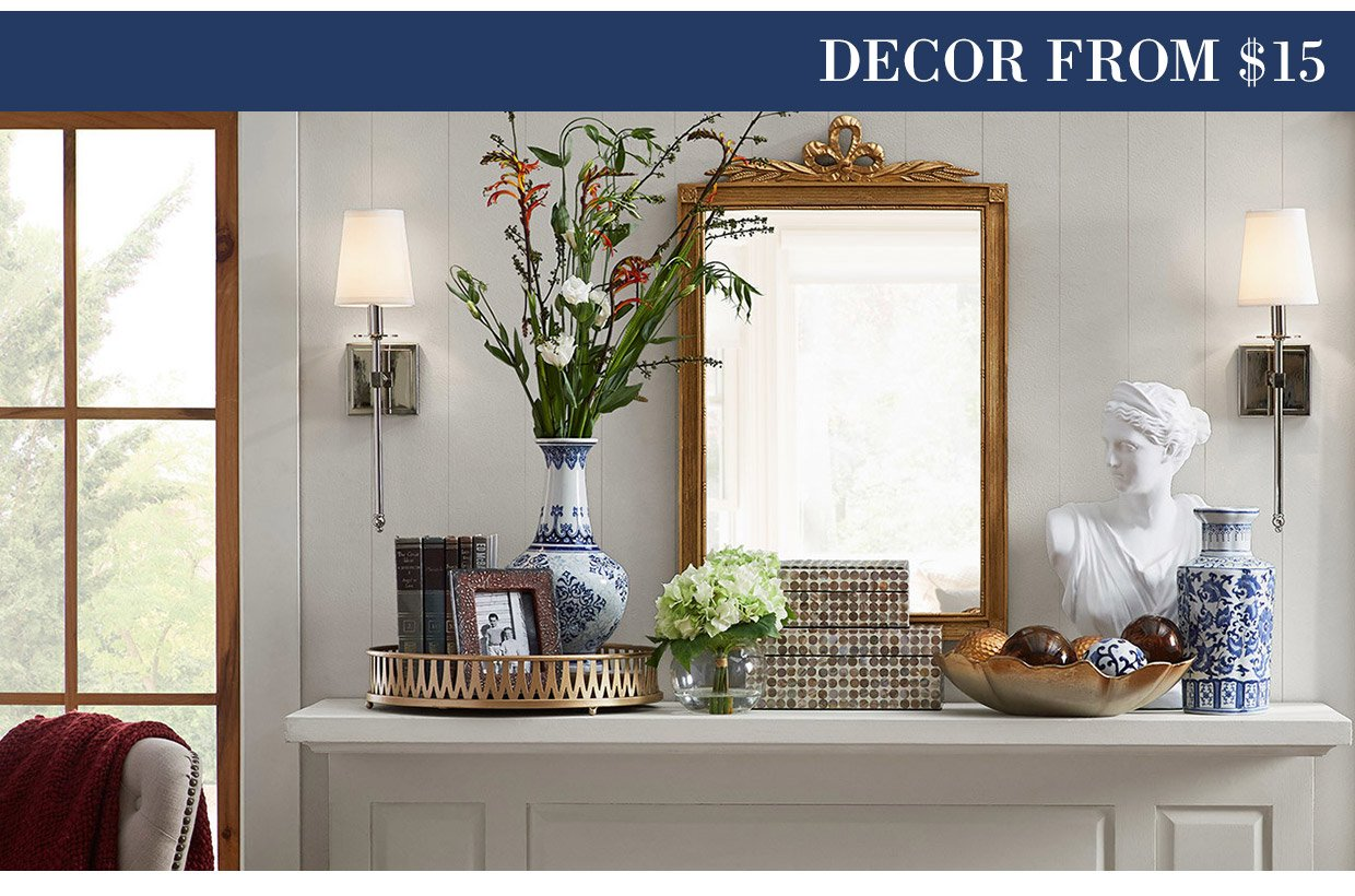 DECOR FROM $15
