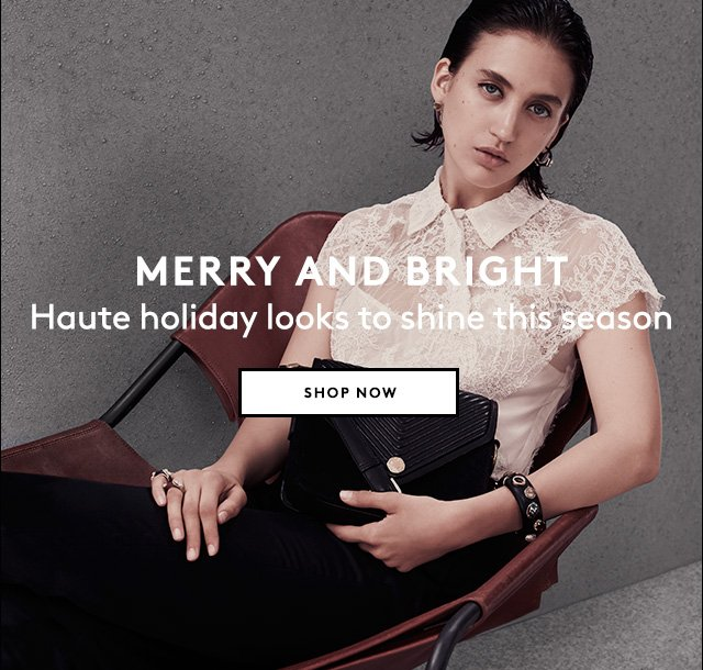 From seasonal sparkle to elegant essentials, be ready to celebrate.