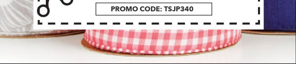 2 Days only in-store & Online 60% off your total purchase of regular-priced Offray By-the-Spool Ribbon. Promo Code: TSJP340.