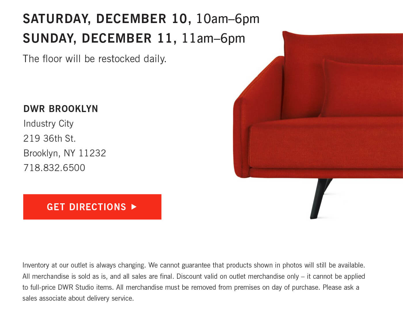Design Within Reach This Weekend 2 Day Warehouse Sale Milled