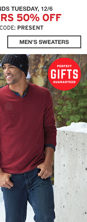 ALL SWEATERS 50% OFF | SHOP MEN