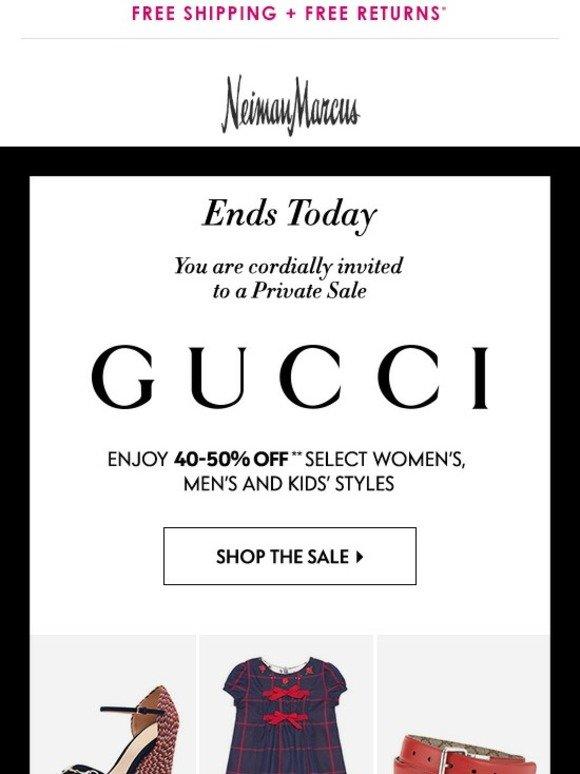 Gucci Private Sale >> Neiman Marcus Gucci Private Sale Ends Today Milled