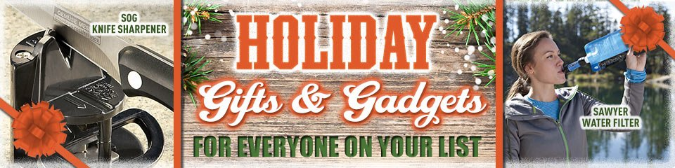 Holiday Gifts & Gadgets for everyone on your list! Prices in this email are good while supplies last through December 12, 2016.