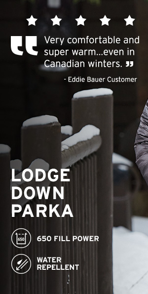 LODGE DOWN PARKA | WOMEN'S OUTERWEAR
