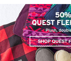 50% QUEST FLEECE THROW | QUEST FLEECE THROW